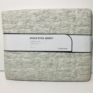 NWT Pottery Barn Organic Jersey Toddler Blanket